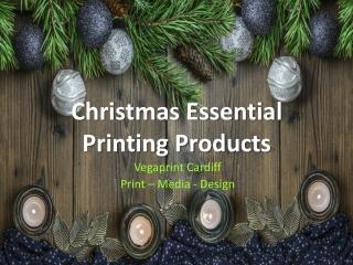 Christmas Printing Products 2020