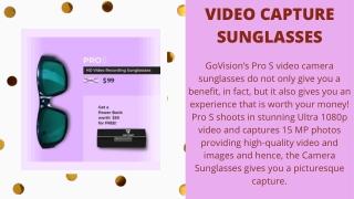 Video Capture Sunglasses
