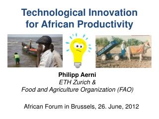 Technological Innovation for African Productivity
