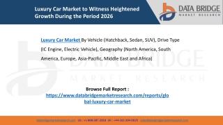 Luxury Car Market