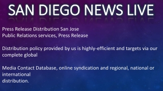 San Diego News LIVE TODAY