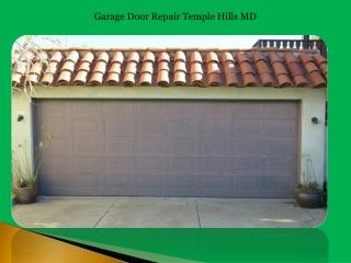Garage Door Repair Temple Hills MD