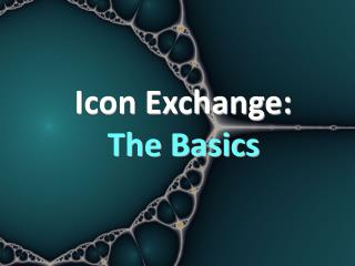 Icon Exchange: The Basics