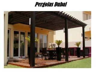 Pergolas Dubai