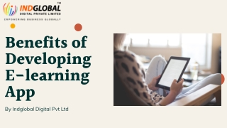 Benefits of Developing E-learning Mobile app
