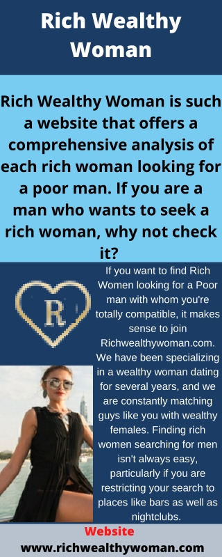 Rich Wealthy Woman