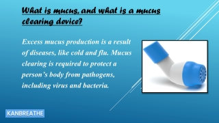 mucus clearing