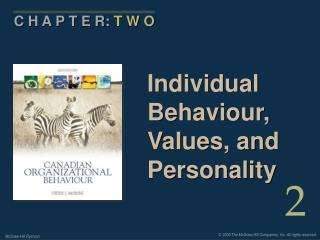Individual Behaviour, Values, and Personality