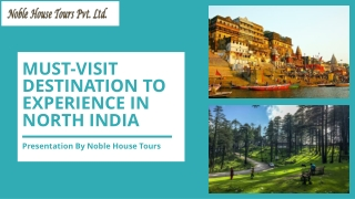 Must-Visit Destination To Experience In North India