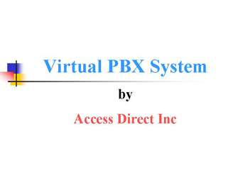 Virtual PBX Phone System