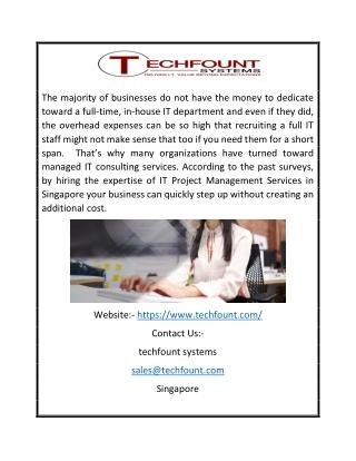 System Server Solutions Singapore | Techfount.com