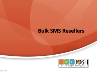Bulk SMS Resellers in Hyderabad, White Label Bulk SMS Reseller In Hyderabad  – SMSjosh