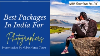 Best Packages In India For Photographers