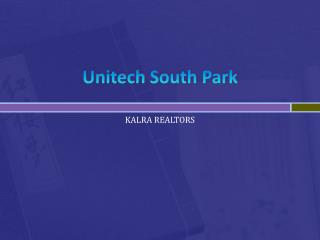 Unitech South park Gurgaon*9711206207????**????9871851133*????????go