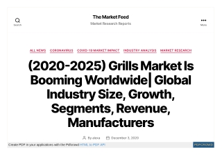 Grills Market