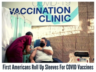 First Americans roll up sleeves for COVID vaccines