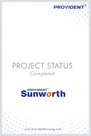 Provident Sunworth   Flats for Sale on Mysore Road-Nice Junction   Ready to Move Flats