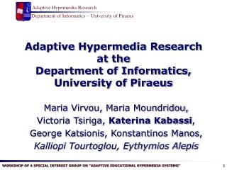 Hypermedia Design Methods