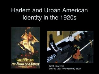 Harlem and Urban American Identity in the 1920s