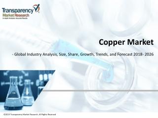 Copper Market to Reach US$ 221.6 Billion by 2026