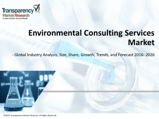 Environmental Consulting Services Market - Industry Analysis 2026