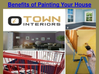 Benefits of Painting Your House