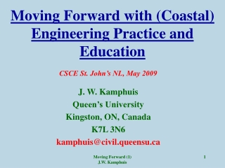 Teaching of Engineering Design with Industrial Support