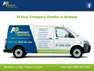 24 Hour Emergency Plumber in Brisbane