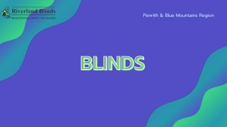 High Quality Panel Blinds Penrith