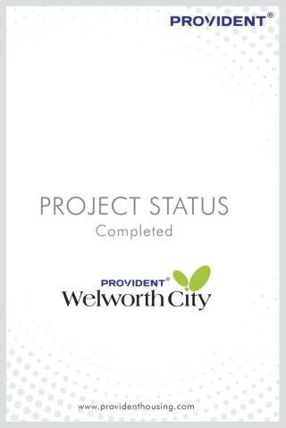 Provident Welworth City   Flats for Sale in Yelahanka   Ready to Move Flats in Yelahanka
