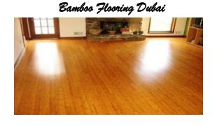 Bamboo Flooring Dubai