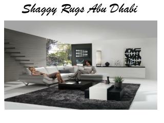 Shaggy Rugs Abu Dhabi