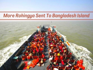 More Rohingya sent to Bangladesh island