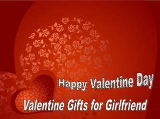 Send Valentine Gifts for Girlfriend