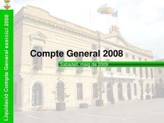 Compte General 200 8