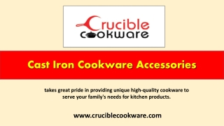 Cast Iron Cookware Accessories
