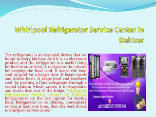 Whirlpool Microwave Oven Service Center in Thane