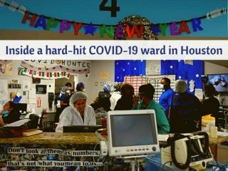 Inside a hard-hit COVID-19 ward in Houston