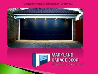 Garage Door Repair Montgomery County MD