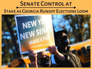 Senate control at stake as Georgia runoff elections loom