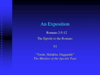 An Exposition
