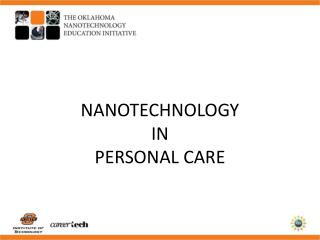 NANOTECHNOLOGY  IN PERSONAL CARE