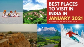 Best Places To Visit In India In January 2021