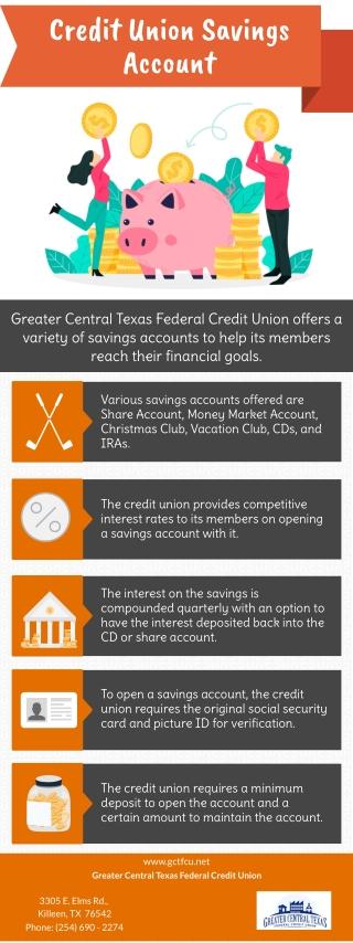 Credit Union Savings Account