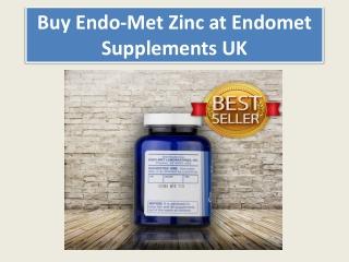 Buy Endo-Met Zinc at Endomet Supplements UK