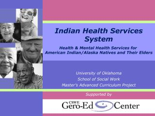 Indian Health Services System Health  Mental Health Services for  American Indian