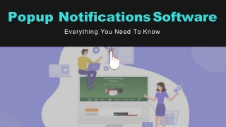 Introduce Popup Notifications Software