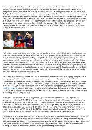 Cerita Pendek: Permisi Tentang Situs Judi Bola Online Terpercaya