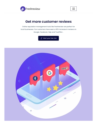 Online Review Management Software - Freshreview