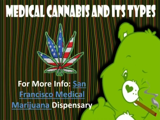 Medical Cannabis and its Types
